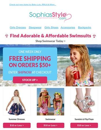 Do you want FREE shipping?  YOU DO!
