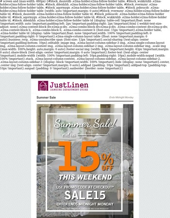 SALE Now On | Extra 15% Off