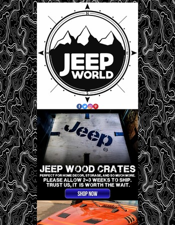 Jeep Crates? Yeah, We Have Those Now.