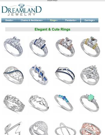 Glamorously Elegant Jewelry