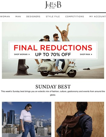 Final Reductions - Get up to 70% off sale!