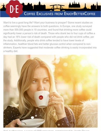 Douwe Egberts Coffee – Live Long and Prosper