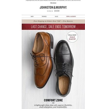 Sale ends tomorrow: Last chance for big savings!