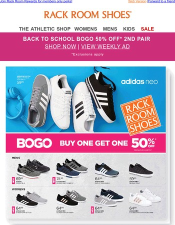 Quick! Check out our Back to School Weekly Ad for great brands & savings!