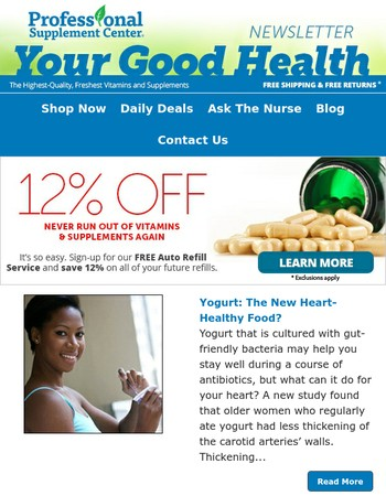 ❤ Your Good Health Newsletter 7-16-17