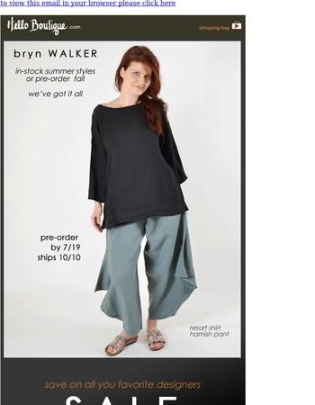 Hello Bryn Walker! (+SALE...)