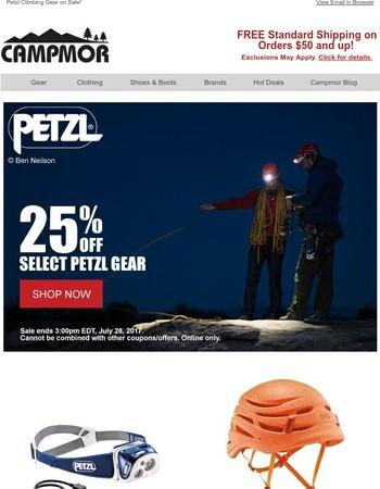 Petzl Climbing Gear on Sale!
