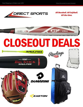 Final Closeout Gear! Save on Your Favorite Brands!