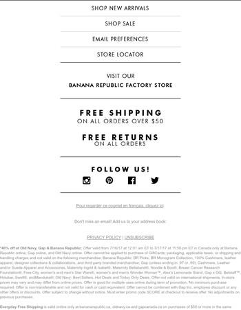 3 brands, 1 code, 1000s of deals ➡️