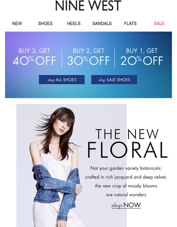 The NEW Florals! | Buy 3, Get 40% Off