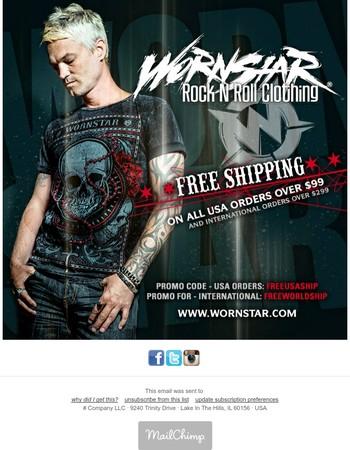 Wornstar - Free Shipping