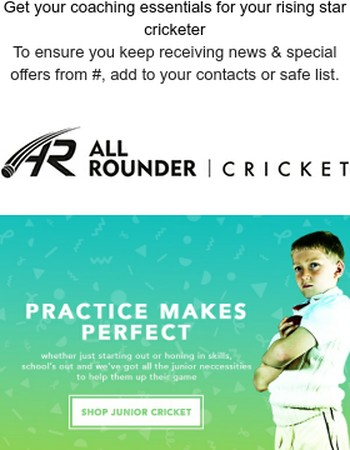 School's out - so get playing cricket!
