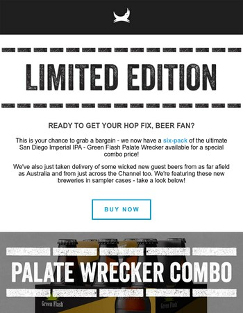 Get Your IPA Fix: Palate Wrecker Clearance & ALL NEW Guest Beers
