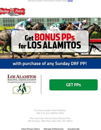 Bonus Los Alamitos PPs - See Inside!