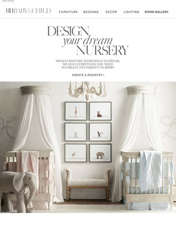 Design Your Dream Nursery with Our Registry