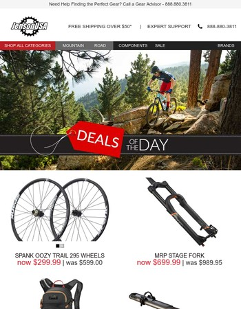 Deals of the Day + Save Big on 100+ Maxxis Tires