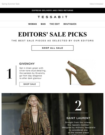 Top sale tips from our editors