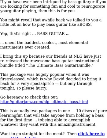 How to play BASS guitar like a BOSS ...