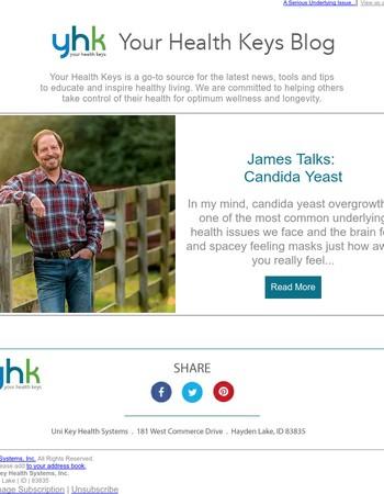 James Talks: Candida Yeast