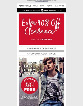 All Clearance On Sale. 100s of New Styles Added Online.