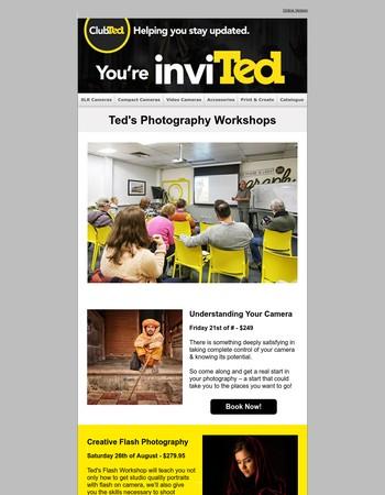 Teds Camera Store Newsletter