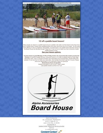 The Board House paddleboarding deal of the week