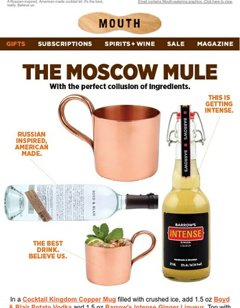 Moscow? Collusion? Cocktail please.
