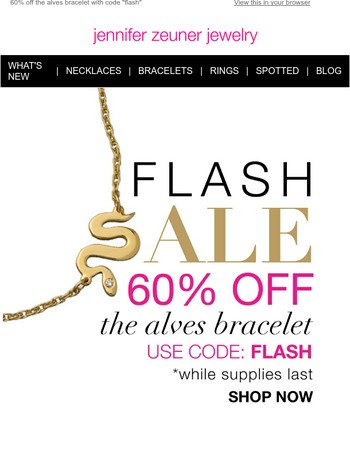 Only A Few Left! Save 60% off the Alves Bracelet Before They Sell Out!