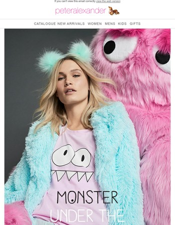Peter's new Monster collection is scarily good!