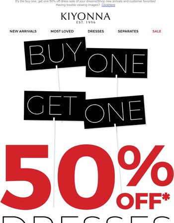 A BOGO Sale You Can't Miss !