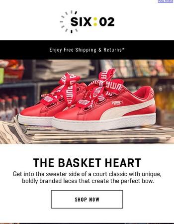 New! The latest PUMA Basket Heart.