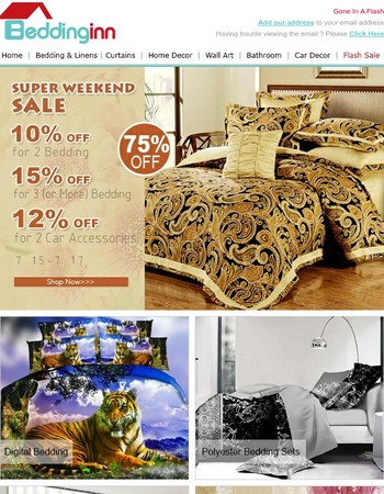 Super EXTRA SAVINGS ❤ Super Sunday Sale!