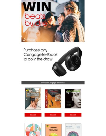 Win a pair of Beats by Dre!