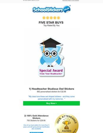 School Stickers Newsletter
