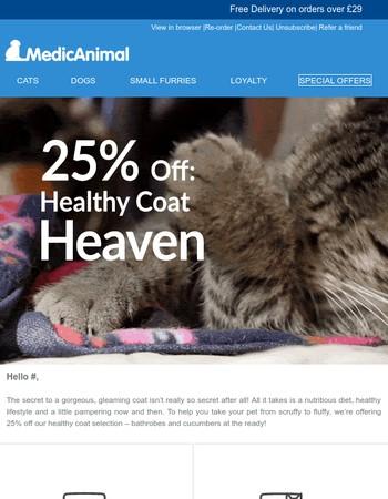 Fur & beauty: 25% off