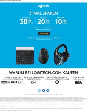 Rabattaktion verlängert– Sparen Sie im ganzen Shop bis zu 30%