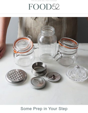 Jars that spiralize, grate, and juice, too?