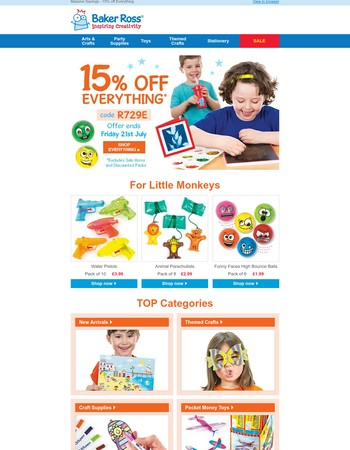 15% OFF Everything | Tons of Ideas to Keep Kids Busy