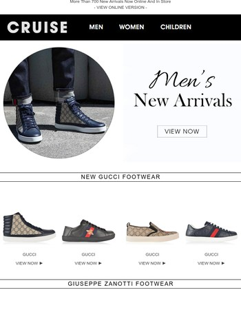 Next Seasons Designer Footwear Now!