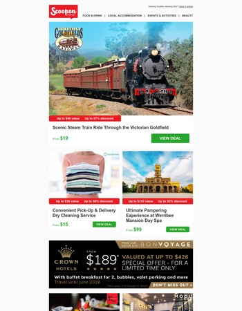 Victorian Goldfields Scenic Railway