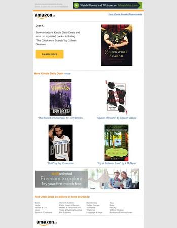 Amazon.ca: Your Monday Kindle Deals