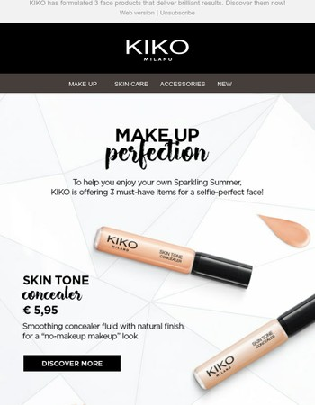 It's a Sparkling Summer! SPOTLIGHT on 3 new unmissable face products from KIKO MILANO