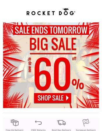 Hurry!⏰Sale ends tomorrow