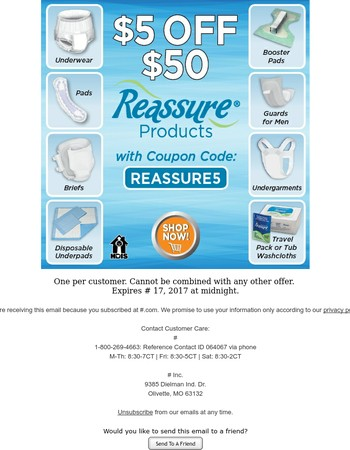 One Day Only - Save BIG on Reasasure! ⭐