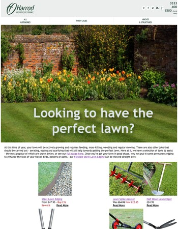Looking to have the perfect lawn?