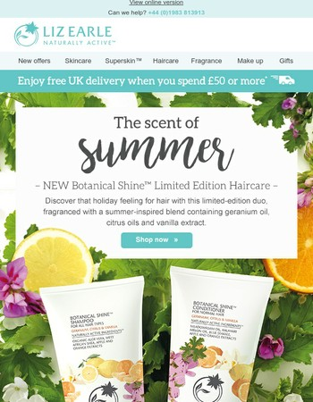 ✿ NEW Botanical Shine Haircare | Limited Edition