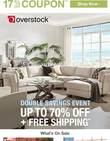 Up to 70% off | Shop Our BIGGEST Double Savings Event! Find Incredible Deals Today!