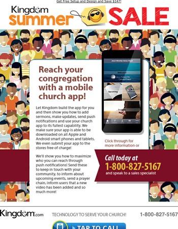 Summer Sale on Mobile Apps!