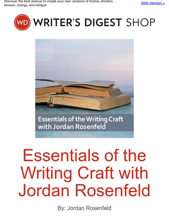 Find your own writing path with help from Jordan Rosenfeld