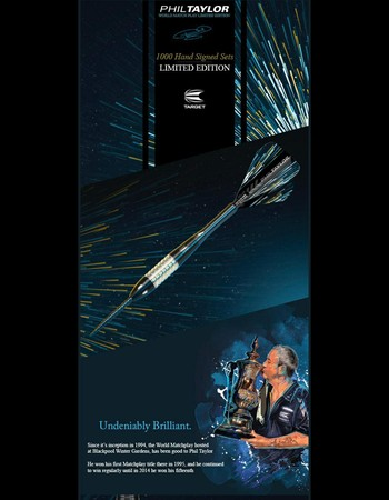 Pre-Order your Target Phil Taylor World Matchplay Limited Edition Darts